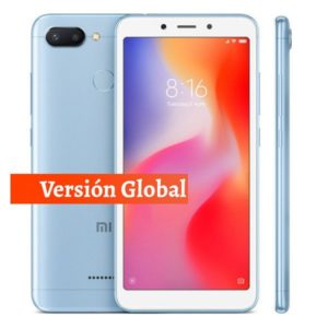 Comprar Xiaomi Redmi 6 Global en kiboTEK España