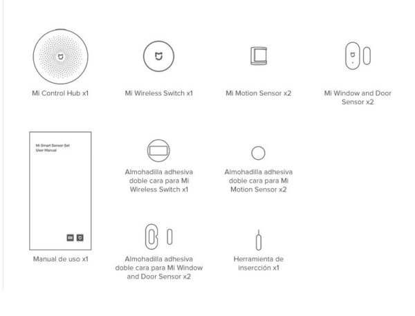 Buy Xiaomi Mi Smart Sensor Set in kiboTEK Spain