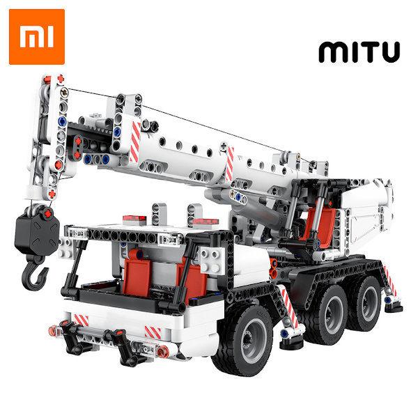 Comprar Xiaomi MiTU Engineering Crane Building Blocks en kiboTEK España