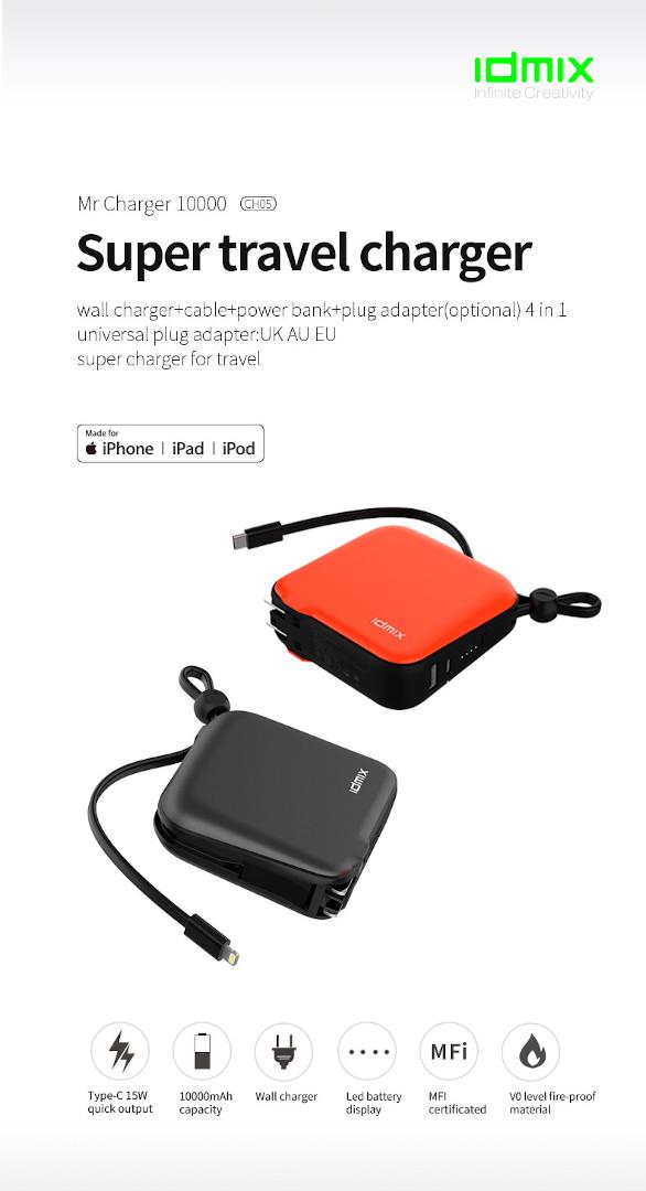 Compre Xiaomi Idmix MR Charger 10000 na kiboTEK Espanha