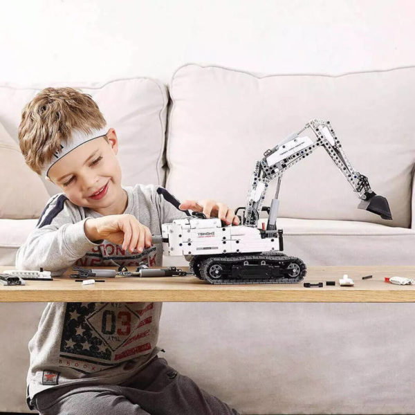 Buy Xiaomi MiTU Engineering Excavator Building Blocks at kiboTEK Spain