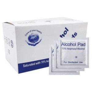 Buy Disinfecting Wipes for mobiles 70% Isopropyl Alcohol in kiboTEK Spain