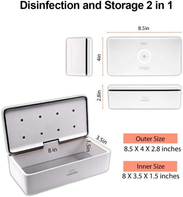 Comprar Esterilizador LED UV 59S S2 en kiboTEK España