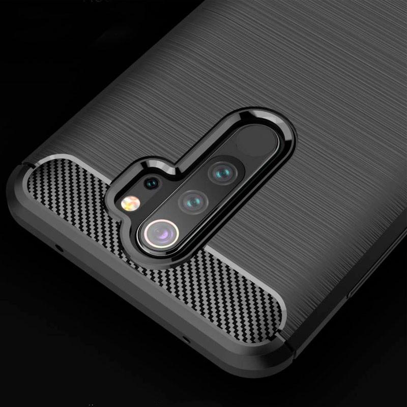 Buy Ipaky Case Xiaomi Redmi Note 8 Pro Carbon Fiber Kibotek