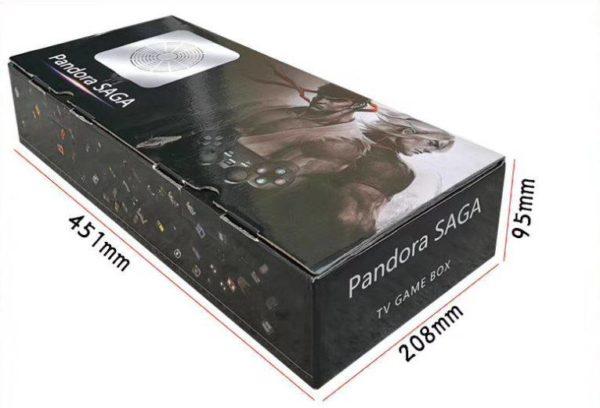 Comprar Pandora Saga 3d tv game box 3000 juegos en kiboTEK España