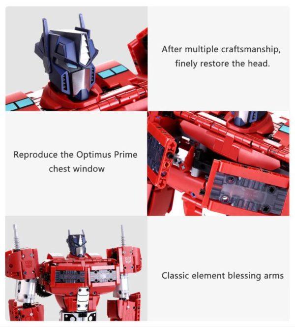 Compre Transformadores Xiaomi Optimus Prime na kiboTEK Espanha