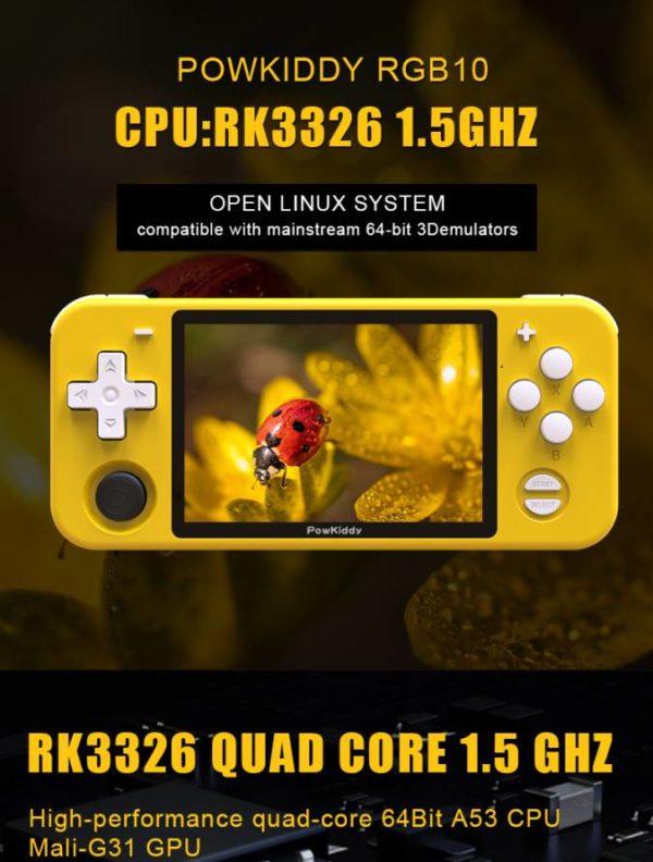 Kaufen Sie Powkiddy RGB10 OGA Clone in kiboTEK Spanien